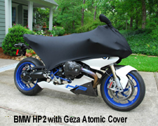 BMW HP2 Geza Motorcycle Covers